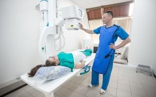 Проведение рентгенографии в частных клиниках.